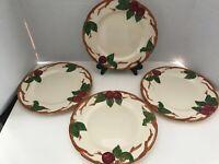 Franciscan Apple Dinner Plates (4)