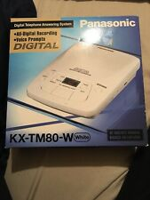 Panasonic Answering Machine KX-TM80-W
