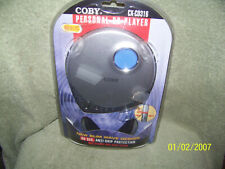 portable personal  cd player   i.o.p {coby}