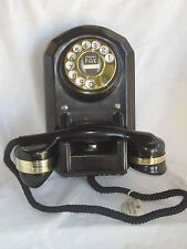 Automatic Electric Bakelite Wall Telephone Model 35