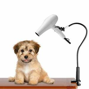 Hands-Free Hair Dryer Holder Dog Pet Grooming Table Hair Dryer Stand Aluminum