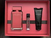 Narciso Rodriguez 3-Pc. Fleur Musc For Her Eau de Parfum Gift Set New In Box