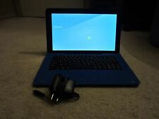 Maven Pro 2 in 1 laptop, Light blue, Black charging cable, google play store