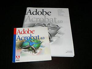 Adobe Acrobat 4.0 für MAC niederländische Vollversion Nederlandse versie