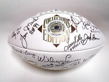 Lawrence Taylor Eric Dickerson 22 Hall of Famer Signed Autographed Football Ball
