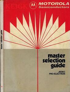 Motorola Semiconductor Master Selection Guide * CDROM * PDF