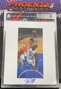 DWIGHT HOWARD Signed 8x10 Autograph Photo BECKETT Slabbed Authentic Auto 1