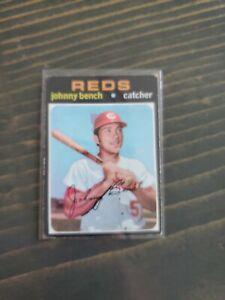 1971 Topps Johnny Bench #250 REDS - HOF