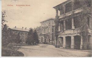 Ansichtskarte Hessen   Gießen  Medizinische Klinik  1913