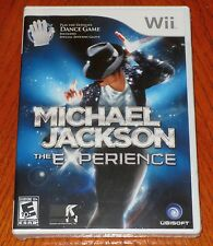 Michael Jackson The Experience with Special Edition Glove Wii  *NEW*