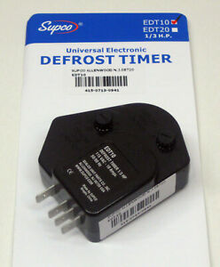 EDT10 SUPCO Refrigerator Defrost Timer Control Universal 120 Volt 10 Amp