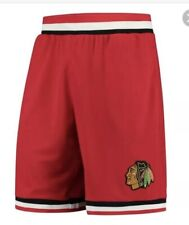 Fanatics Chicago Blackhawks Red Performance Shorts Small