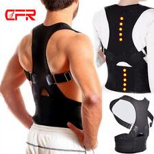 M L XL Rückenbandage Rückenhalter Haltungskorrektur Geradehalter Stabilisator ES