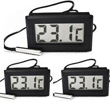 New listing 3x Lcd Digital Thermometer Temperature Fridge/Freezer/Aquarium/F ish Tank Brewing