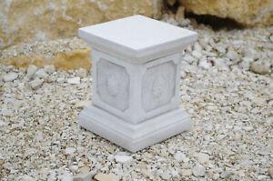 Sockel Säule Podest Basis Steinfigur frostsicher Skulptur schwer