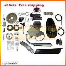 2x 80CC 2-Stroke Motorized Engine Motor For Bicycle Bike Gas Engine kit