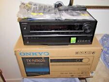 ONKYO TX-NR626 RECEIVER AMPLI-TUNER 7.2 CHANNEL AV NETWORK WIFI BLUETOOTH IN BOX