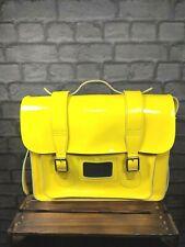 Dr Martens Original Yellow Leather Messenger Bag