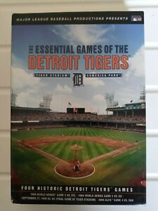 Essential Games Of The Detroit Tigers (DVD, 2009) - Four DVD Set