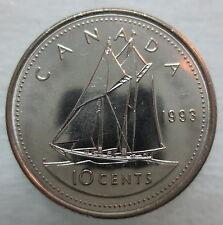 1993 CANADA 10¢ BRILLIANT UNCIRCULATED DIME