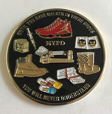 NYPD Police Department of New York Vice Until You Have Walked In These Shoes