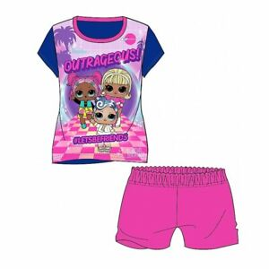 BNWT Lol  Surprise Shortie Pyjamas Ages 3-10 Years - Free 1st Class Postage