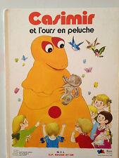 CASIMIR ET L'OURS EN PELUCHE / G.P ROUGE ET OR 1978