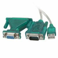 1M USB a RS232 9 pin Cavo adattatore DB9 femmina a maschio connettore DB25 HKIT