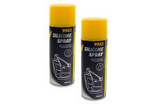 Silikonspray 900 ml Mannol 9963 Glanzspray Aussenpflege Silikon Spray Silicon