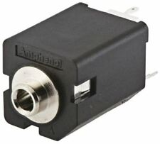 Amphenol AC Series, 3.5 mm PCB Mount Jack Socket, 5, -, 10A