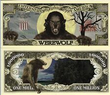 The Werewolf Million Dollar Novelty Money