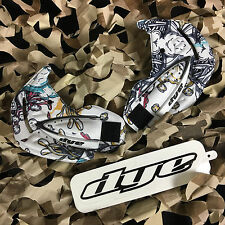 NEW Dye I4 Paintball Goggle Mask Replacement Soft Ears Set - Steamboat White
