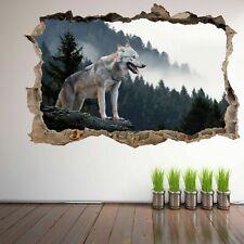 Wolf 3D Wall Art Sticker Mural Decal Home Office Decor FP6