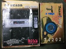 Boss Audio AVA 2680R CD Receiver + Thump T4202 200W Car Speaker Bundle