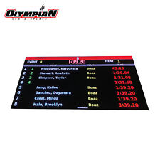 Swimming Diving 3.91mm LED Digital Scoreboard Colorado Time Systems Compatible