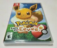 Pokemon: Let's Go, Eevee! (Nintendo Switch, 2018) NEW