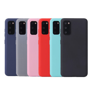 Soft Thin Matte TPU Gel Silicone Phone Case Cover Huawei P10 P20 P30 Lite/Pro