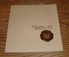 Original 1978 Cadillac Full Line Deluxe Sales Brochure 78 Eldorado Fleetwood