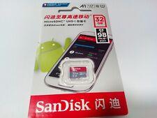 Tarjeta de memoria Micro SD SanDisk Ultra A1 32GB - 98MB / S Clase 10