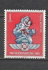 1484B-SELLO FISCAL ESPAÑA AVIACION HUERFANOS  EJERCITO DE AIRE 1 P SPAIN REVENUE
