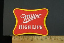 """""""Miller High Life"""" BEER EMBROIDERED IRON-ON PATCH 3.5x2.5"""""""