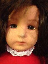 """18"""" Vintage Lenci Felt Doll - Fiammetta - HSN #955381 W/tags and Box"""