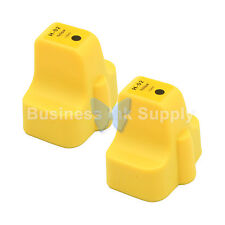 2 YELLOW 02XL New Generic Ink Cartridge 02 HIGH YIELD for HP HEWLETT PACKARD