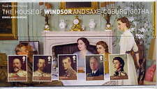 GB 2012 KINGS & QUEENS HOUSE of WINDSOR PRESENTATION PACK No.466