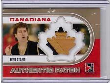 ELVIS STOJKO 10/11 ITG Canadiana Worn Jacket  Patch SP /10  GOLD Rare 3-color