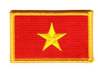VIETNAM VIETNAMESE FLAG PATCHES COUNTRY PATCH BADGE IRON ON NEW EMBROIDERED