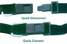(2) Fast Hook Motorcycle/Snowmobile Helmet Strap Quick Relase Buckle DOT Approve