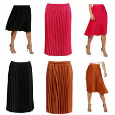 0d3232b92ff29 Satin Pleated Skirts for Women for sale | eBay