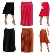 2e364c52d Satin Pleated Skirts for Women for sale | eBay