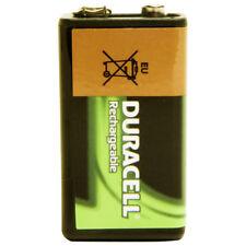 Duracell 5000394056008 STANDARD 9V 1PK Rechargeable Battery 9V PP3 170mAh